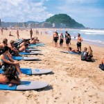 Spanish and Surfing San Sebastian