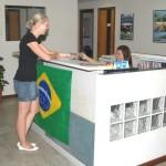 Reception Area - Portuguese classes in Rio de Janeiro