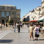French Courses at ILA Montpellier - City view