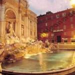 Full immersion Italian courses in Rome - Trevi Fountain