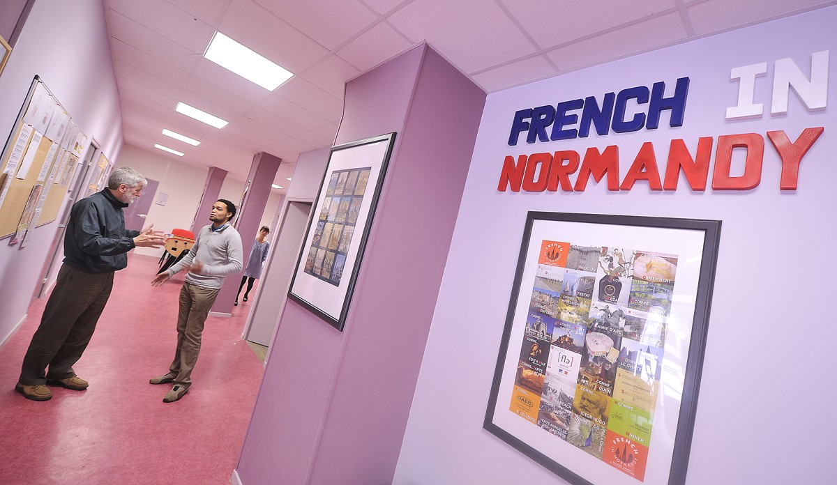french courses in normandy france immersion french