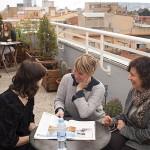 Spanish School Barcelona - Terrace