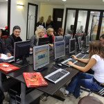 Spanish courses in Barcelona - Multimedia Room