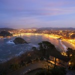 Spanish Courses in San Sebastian - Night View