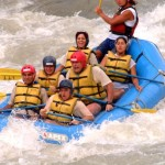 Water Rafting - COSI San Jose Spanish School Tour