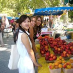 Market Visit - French Courses in Montpellier